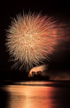 Red Gazebo by Marie Moriarity Long Exposure of the fireworks over the river. Black Peach, Black And Brown, Fire Works, Over The River, Artistic Photography, Magical Photography, Night Photography, World Of Color, Paint Shop