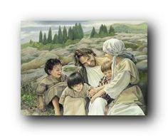 """""""Let the Children Come"""" by Liz Lemon Swindle"""