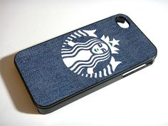 Starbuck on blue jeans - iPhone 4 Case, iPhone 4s Case and iPhone 5 case Hard Plastic Case