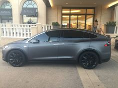 Matte Gray Model X P100D in Beverly Hills, CA at Barneys  New York - Imgur