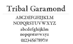 36 Free Tattoo Fonts With Tribal Designs