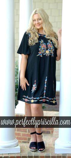 #dress #curvy #fashion #plussize #embroidery #boutique