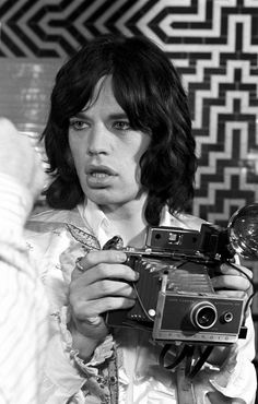 Mick Jagger photographed by Baron Wolman.