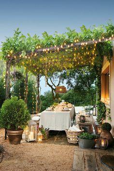 Outdoor Pergola, Backyard Pergola, Pergola Shade, Pergola Plans, Outdoor Dining, Backyard Landscaping, Outdoor Decor, Patio Stone, Patio Privacy