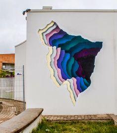 by 1010 in Fondi, Italy, 5/15 (LP) Lp, Italy, Magazine, Murals, Instagram Posts, Outdoor Decor, Painting, Street Art, Graffiti