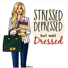 Stressed Work Fashion, Fashion Art, Fashion Design, Rebecca Lynn, Motivacional Quotes, Best Friend Drawings, University Girl, Copics, Pictures To Draw