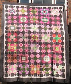 "Inklingo Projects: 6"" LeMoyne star collection. This is Tilde's Passacaglia quilt from the Lucy Boston book."