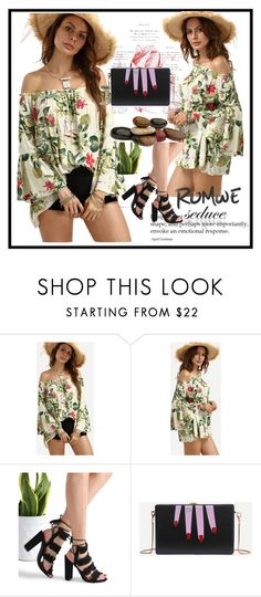 """""""Romwe 10"""" by aida-1999 ❤ liked on Polyvore featuring vintage"""