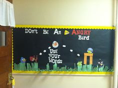 Angry Bird Bulletin Board
