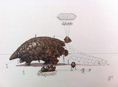 "Wie Tiere ""gebaut"" werden von Ricardo Solis: http://www.wihel.de/design-und-kunst/wie-tiere-gebaut-werden-von-ricardo-solis_38883.html"