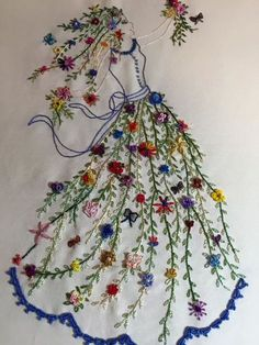 Kelly Cline Quilting - combining hand embroidery with long arm quilting