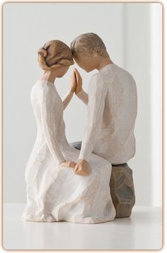 Willow Tree Figurine - Around You this was my wedding cake topper Willow Tree Engel, Willow Tree Figuren, Wedding Cake Toppers, Wedding Cakes, Anne Laure, Young Couples, Sculpting, Marie, Dream Wedding