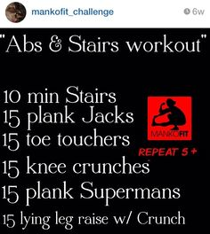 Abs and stairs | Mankofit