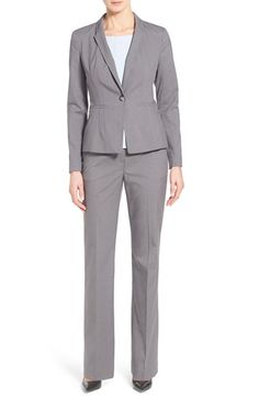 Halogen® Stretch Suit Jacket & Pants available at #Nordstrom