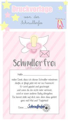 Schnullerfee Brief Vorlage zum Ausdrucken ac1c51cf1c