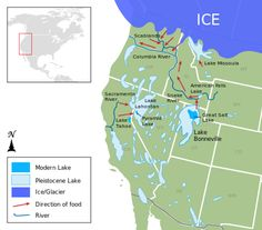 Lake Bonneville - Wikipedia, the free encyclopedia