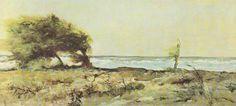 Giovanni Fattori - libecciata 1880/90