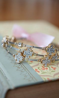 Clover Bracelet Trio - Conversation Pieces