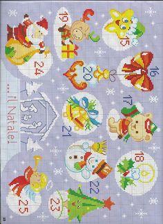 Xmas Cross Stitch, Cross Stitch For Kids, Cross Stitch Boards, Cross Stitch Embroidery, Christmas Perler Beads, Xmas Ornaments, Christmas Cross, Cross Stitch Designs, Cross Stitch Patterns