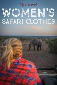 Looking for the best clothes to go on safari with while in Africa? We got you covered. Travel Tips.