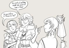 only niles. only niles bro~~he would tho