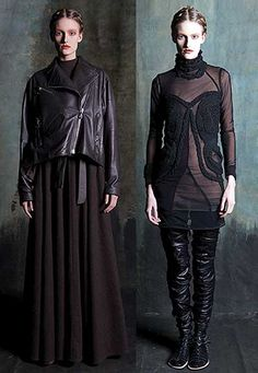 Lena Lumelsky -- AW 2011-12  collection, called 'Hochmud'