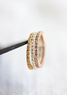 LIMITED OFFER- Buy 2 ( same color & size) Get the third one for FREE! When you order 2 of this stack ring in SAME COLOR AND SAME SIZE, the third one