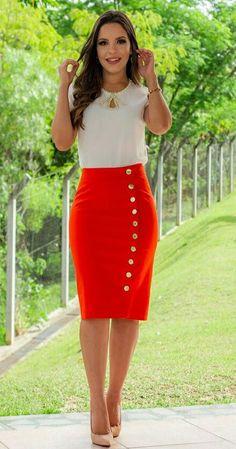 Falda roja!!!!!