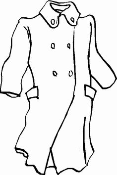winter coloring pictures of clothes to wear | Animations A ...