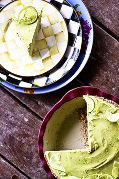 Joy's Secret Ingredient Lemon Lime Avocado No Sugar Icebox Pie | www.foodiewithfamily.com #GF #GlutenFree #GrainFree #DairyFree #Primal #Paleo #Realfood #GAPSdiet #GAPS #SugarFree #DiabeticRecipes #Vegan