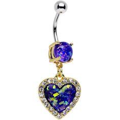 Cute Belly Rings, Dangle Belly Rings, Belly Button Rings, Ear Rings, Punk Jewelry, Opal Jewelry, Jewelry Accessories, Bohemian Jewelry, Jewelry Rings