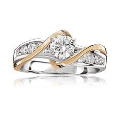 Lila Rose Brilliant-Cut Engagement Ring 1.15ct. T.W.