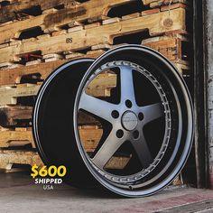 SALE - $600.00 Shipped    VarrsToen ES8  18x9.5 5x100 35 73.1   Full Matte Black Chrome Rivets  Set of 4 Wheels  #fontmotorsports #VarrsToen #ES3 #VassToenES3 #MatteBlack #VTdivision #Audi #AudiTT #AudiA3 #Scion #ScionFRS #FRS #SciontC #ScionxD #Volkswagen #Golf #GTI #Jetta #Subaru #BRZ #SubaruBRZ #WRX #STI #WRXSTI #SubaruWRX #SubaruSTI   VarrsToen Sold Here  Contact Us for Pricing  info@fontmotorsports.com