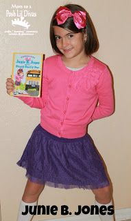 Junie B. Jones cute idea for school when have to dress as favorite character in a book