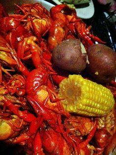 Boiled Crayfish Louisiana style