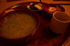 thin rice porridge
