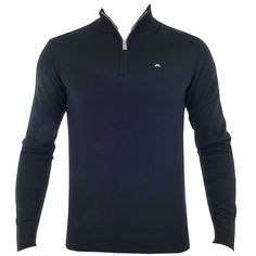 59bacd1d3a59 J Lindeberg Kian Patch True Merino Black Available At TrendyGolf