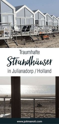 Strandhäuser in Julianadorp & Holland Traumhafte Strandhäuser in Julianadorp / Holland. Perfekter Urlaub an der Nordsee The post Strandhäuser in Julianadorp & Holland appeared first on Decoration Page. Great Places, Places To Go, Beautiful Places, Holland Strand, Destinations D'europe, Reisen In Europa, Living In Europe, Voyage Europe, Wayfarer