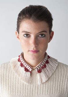 Collar Magnifique Red Collars For Women, Brooch, Woman, Red, Fashion, Accessories, Moda, Fashion Styles, Brooches