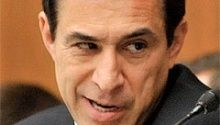 Not a happy Camp Delta-er We haven't heard from Rep. Darrell Issa much since he got the Benghazi knocked out of him a while back, but he's determined to get his snarling face on the TV news from time to time so he can warn us of the latest danger that the president of the