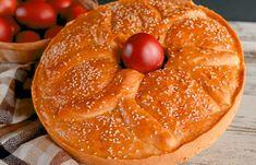 Συνταγή για παραδοσιακό Λαμπρόψωμο από τον Παναγιώτη Παπαδάκη. Το λαμπρόψωμο ή λαμπροκουλούρα του Παναγιώτη Παπαδάκη είναι η τελεία ιδέα για ψωμί το Πάσχα Bagel, Bread, Blog, Brot, Blogging, Baking, Breads, Buns