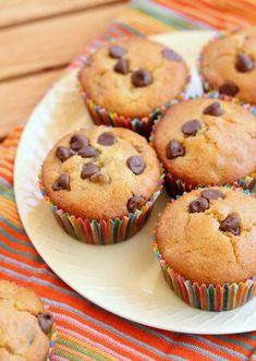 Banana Chocolate Chip Muffins (GF, Vegan) - Bakerita