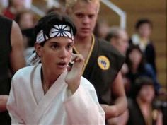 Joe Esposito - Youre the Best Around. From The Karate Kid soundtrack.  Try to be best cause youre only a (hu)man and ...