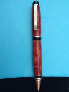 Burl wood cigar pen