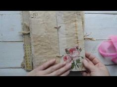 "Vintage style junk journal ""Sunshine "". ( A Personal swap with CraftyIrina ) - YouTube"
