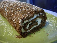 Worlds' worst baker and I managed to pull it off. Managed to satisy my Irish husband's nostalgic longings. Chocolate Roulade, Chocolate Sponge Cake, Baker Recipes, Some Recipe, Sugar And Spice, Sugar Cookies, Sugar Free, Great Recipes, Food And Drink