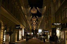 Crown Lights, Vienna Christmas Lights
