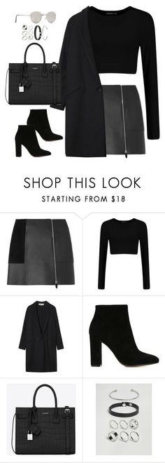 A fashion look from July 2016 featuring white top, cotton coat and Alexander Wang. Browse and shop related looks. Mode Outfits, Fall Outfits, Casual Outfits, Fashion Outfits, Dress Fashion, Fashion Mode, Look Fashion, Womens Fashion, Fashion Trends