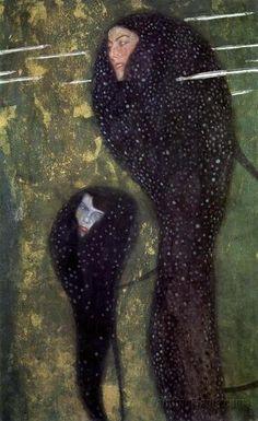 Klimt -  mermaides