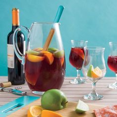 Fruity, fresh, and perfect for pitchers, sangria is the ultimate beachside sipper.
